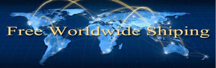 free worlwide shipping