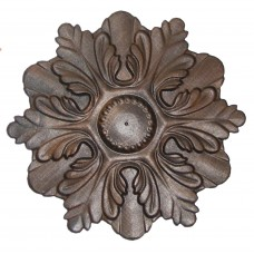 Wood Carved Rosette