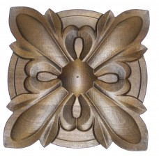 Wood Carving Rosette