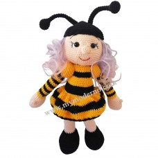 Handmade Toy as Maya the Bee