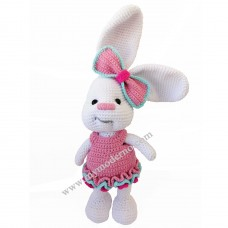 Handmade Toy White Rabbit