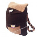 Hand Knitted Kids Backpack
