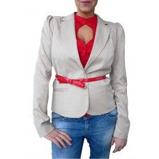 Miss Sixty Womens Coat with Belt